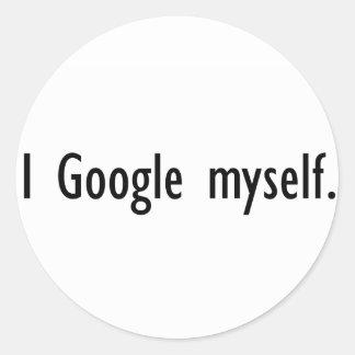 I Google Myself Stickers