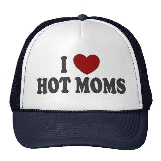 I gorra caliente del camionero de las mamáes del c
