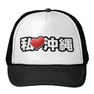 I gorra de Okinawa del corazón