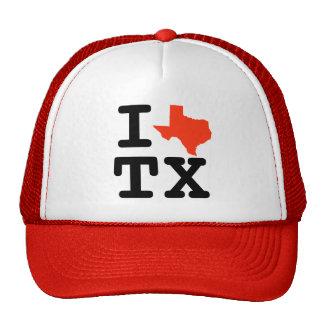 I gorra del camionero de Tejas del corazón