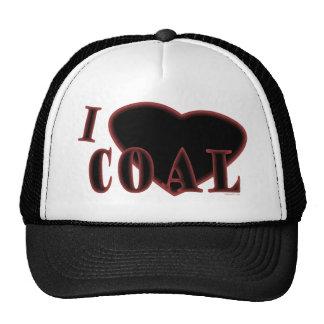 I gorra del carbón del corazón