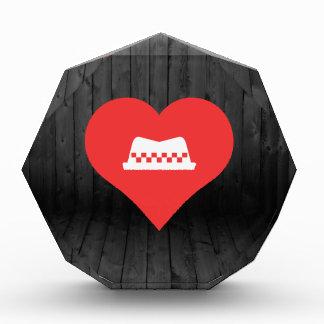 I gorras del taxista del corazón