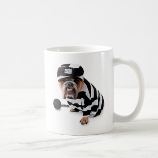 I Got 5yrs For Biting The Postman! - Cup Classic White Coffee Mug