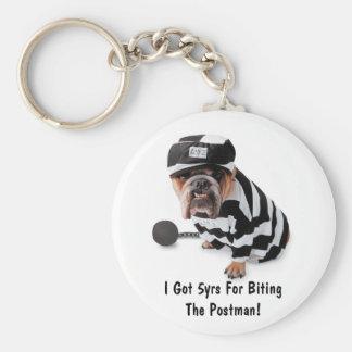 I Got 5yrs For Biting The Postman!- Keychain