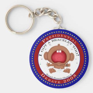 I Got a Bracelet Too! (Obama) Basic Round Button Keychain