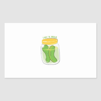 I Got A Pickle Stickers