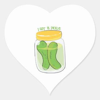 I Got A Pickle Sticker