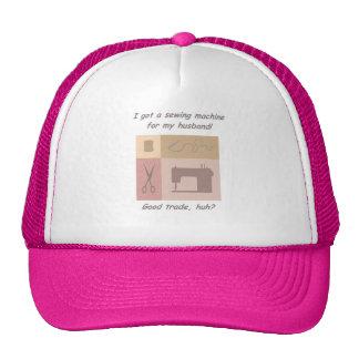 I got a sewing machine mesh hat