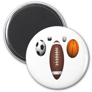 I Got Balls 2 Inch Round Magnet