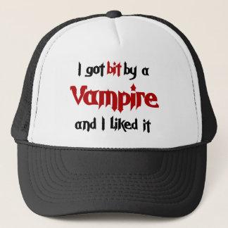 I got bit by a Vampire Trucker Hat