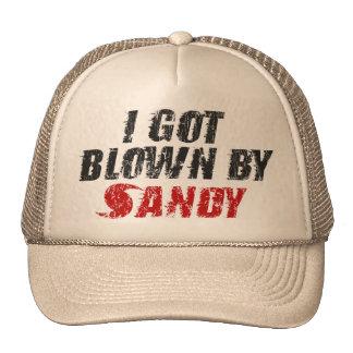 I Got Blown By Sandy - Hurricane Sandy Hat