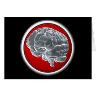 I got brains! card