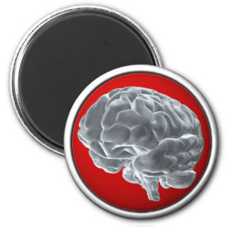 I got brains fridge magnet