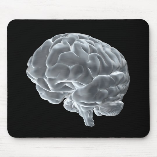 I got brains! mouse pad