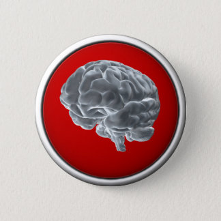 I got brains! pinback button