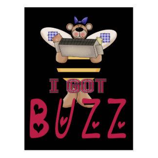 I Got Buzz Postcard