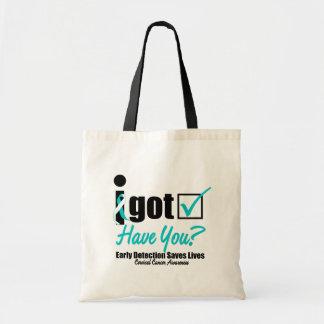 I Got Checked HaveYou-Cervical Cancer Awareness Bag