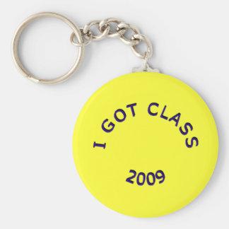 I Got Class 2009 Dark Blue Keychain