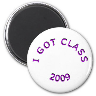I Got Class 2009 Purple Magnet