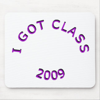 I Got Class 2009 Purple Mousepad