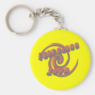 I Got Class 2009 Swirl Keychain