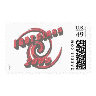 I Got Class 2009 Swirl Stamp