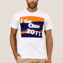 I Got Class (2011 orange and blue) T-Shirt