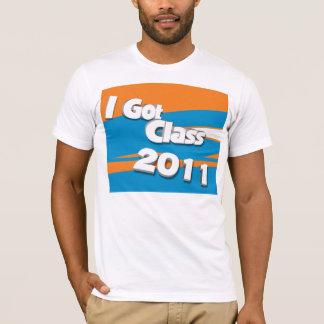 I Got Class (2011 orange and powder blue) T-Shirt