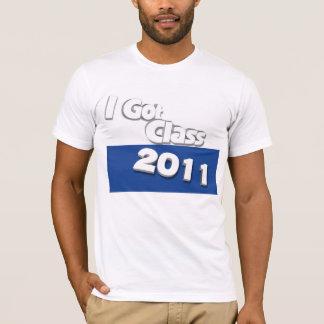I Got Class (2011 white and blue) T-Shirt
