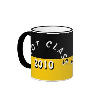 I Got Class (Black and Golden Yellow) Ringer Mug