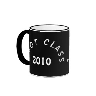 I Got Class (Black and White) Ringer Coffee Mug
