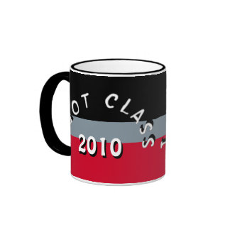 I Got Class (Black, Grey, and Red) Ringer Mug