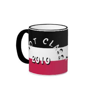 I Got Class (Black, White, and Red) Ringer Mug