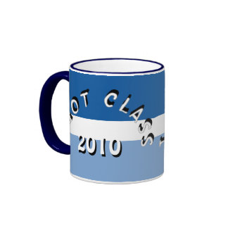 I Got Class (Blue White Sky Blue) Ringer Mug