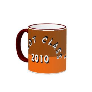 I Got Class (Brown and Tangerine) Ringer Mug