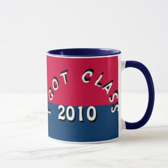 I Got Class (Cardinal and Navy) Mug
