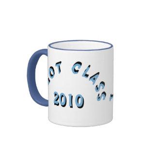 I Got Class (Columbia Blue) Ringer Mug
