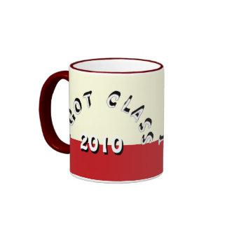 I Got Class (Cream and Crimson) Ringer Mug