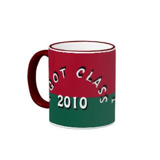 I Got Class (Crimson and Green) Ringer Mug
