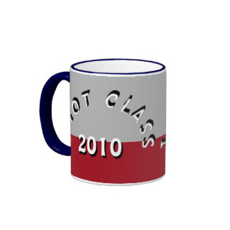 I Got Class (Gray and Crimson) Ringer Mug