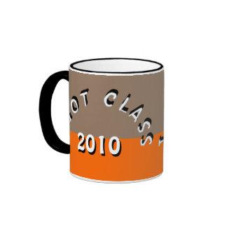 I Got Class (Light Brown and Orange) Ringer Coffee Mug