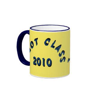 I Got Class (Maize and Navy) Ringer Coffee Mug