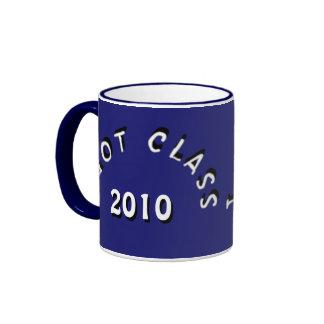 I Got Class (Midnight Blue and White) Ringer Coffee Mug