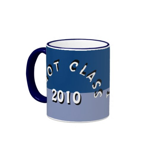 I Got Class (Navy and Dark Periwinkle) Coffee Mug