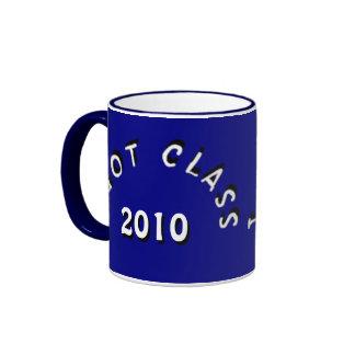 I Got Class (Navy and White) Ringer Coffee Mug