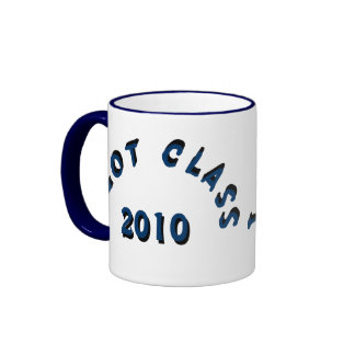 I Got Class (Navy) Ringer Mug