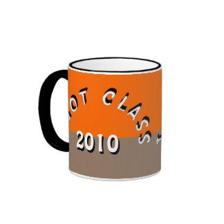 I Got Class (Orange and Light Brown) Ringer Mug