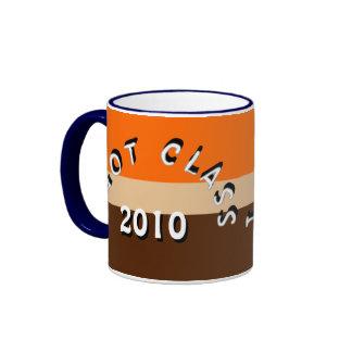 I Got Class (Orange, Tan, and Brown) Ringer Coffee Mug