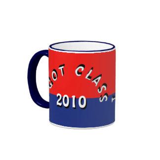 I Got Class (Red and Blue) Ringer Mug