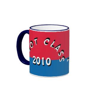 I Got Class (Red and Royal Blue) Ringer Mug